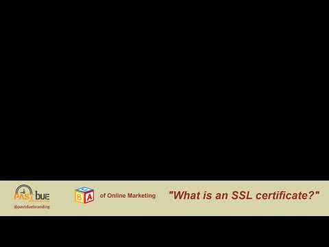 """ABC's of Online Marketing – """"What is an SSL certificate?"""""""