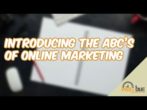 Introducing the ABC's of Online Marketing